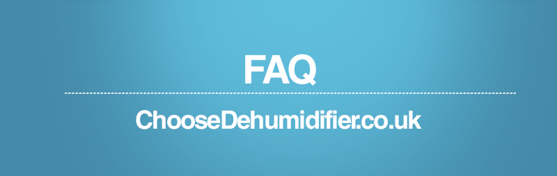 FAQ Dehumidifier